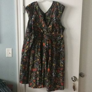 NWOT retrolicious holiday dress, 4x